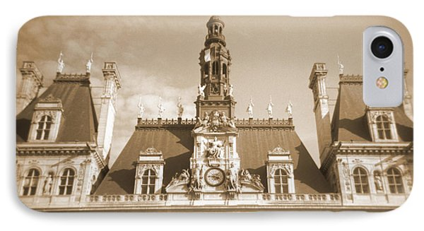 A Walk Through Paris 15 Phone Case by Mike McGlothlen