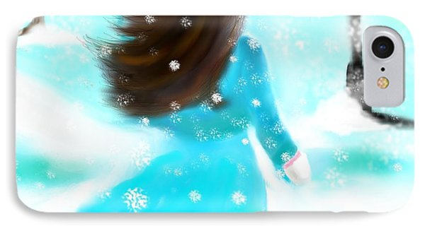 A Winter Day IPhone Case by Lori  Lovetere