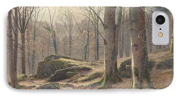 A Winter Morning IPhone Case by James Thomas Watts