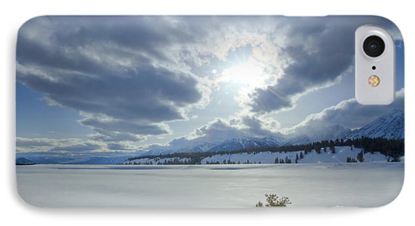 A Winter Sky Phone Case by Idaho Scenic Images Linda Lantzy