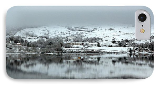 IPhone Case featuring the photograph A Winter's Scene by Lynn Bolt