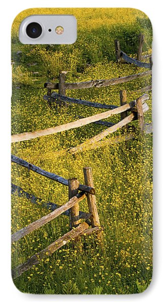 A Wooden Rail Fence Surrounded By Phone Case by David Chapman