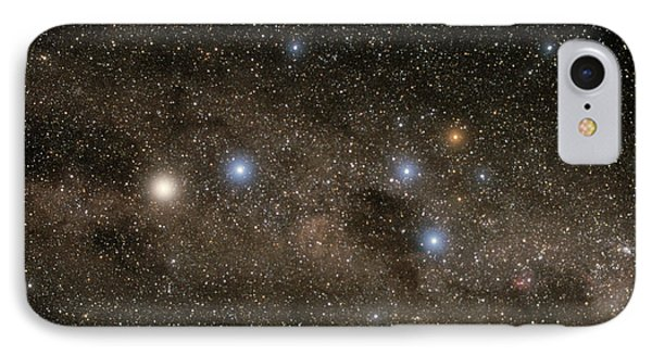 Ab Centauri Stars In The Southern Cross IPhone Case by Akira Fujii