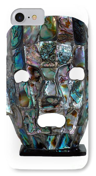Abalone Mayan Mask IPhone Case