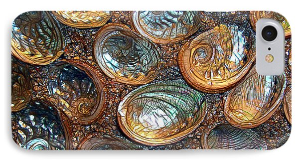 Abalones Phone Case by Judi Bagwell