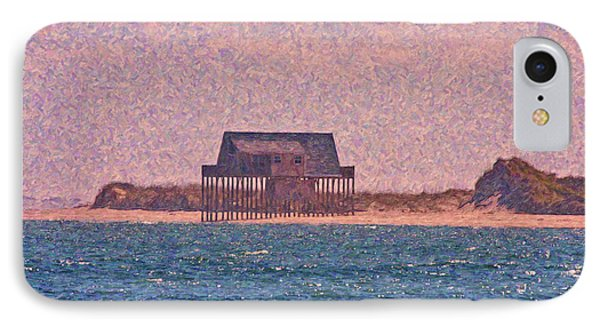 Abandon Fishing Cottage IPhone Case by Betsy Knapp