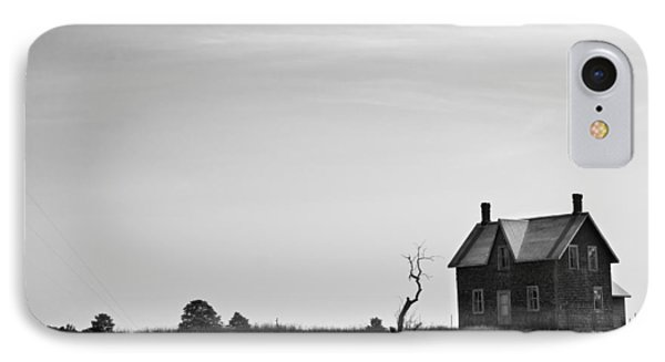 Abandoned Farmhouse IPhone Case by Cale Best