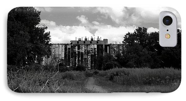 Abandoned Grain Elevator In Buffalo Phone Case by Rose Santuci-Sofranko