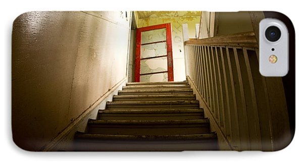 Abandoned Staircase IPhone Case by Cale Best