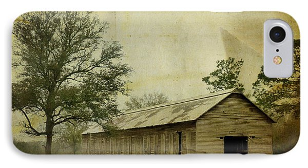 Abandoned Tobacco Barn Phone Case by Carla Parris
