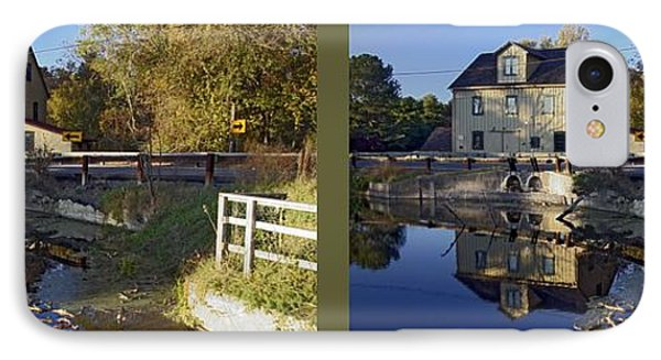 Abbotts Pond - Gently Cross Your Eyes And Focus On The Middle Image IPhone Case by Brian Wallace