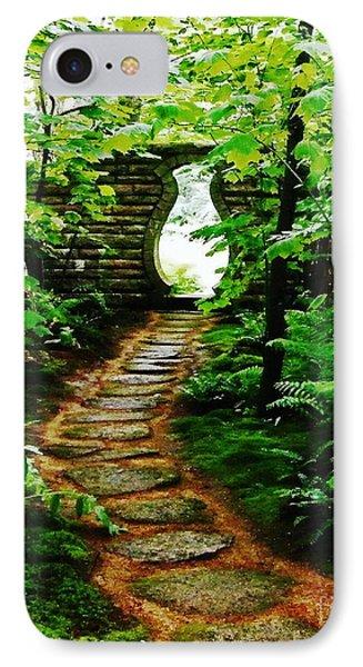 IPhone Case featuring the photograph Abby Aldrich Rockefeller Oriental Garden Gate by Lizi Beard-Ward