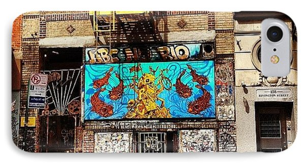 Abc No Rio - Lower East Side - New York City IPhone Case by Vivienne Gucwa