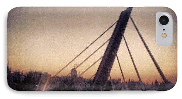 Abdoun Bridge, Jordan - Amman IPhone Case by Abdelrahman Alawwad