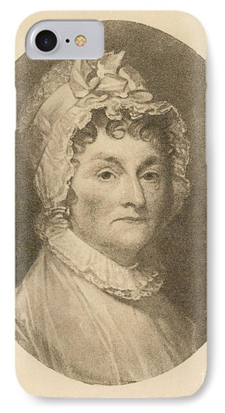 Abigail Adams Phone Case by Photo Researchers