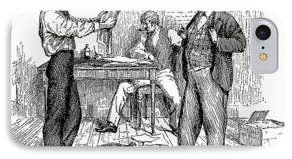 Abolitionist Newspaper Phone Case by Granger