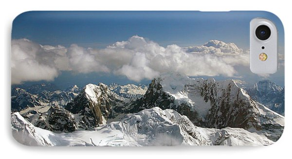 Above Mckinley IPhone Case by Kay Lovingood