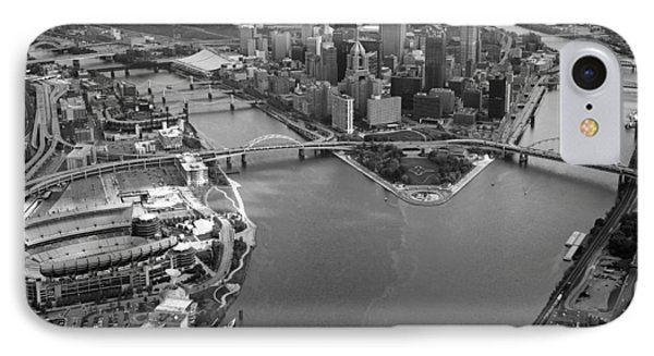 Above Pittsburgh  Phone Case by Emmanuel Panagiotakis
