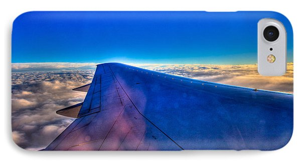 Above The Clouds On A 757 Phone Case by David Patterson