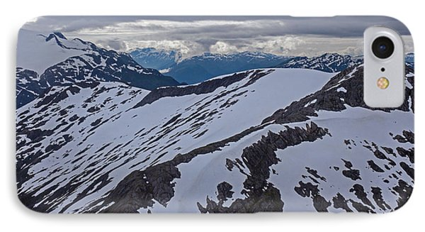 Above The Ridge Phone Case by Mike Reid