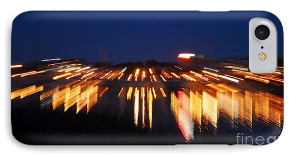 Abstract - City Lights IPhone Case by Sue Stefanowicz