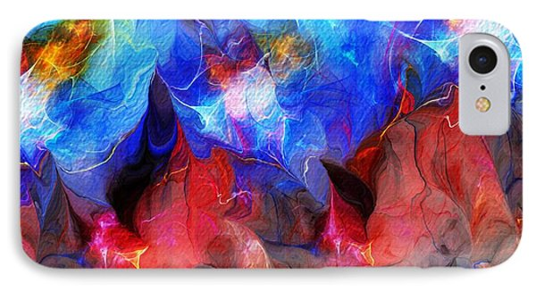 Abstract 032812a Phone Case by David Lane