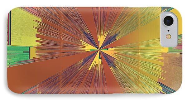 Abstract 4 Phone Case by Deborah Benoit