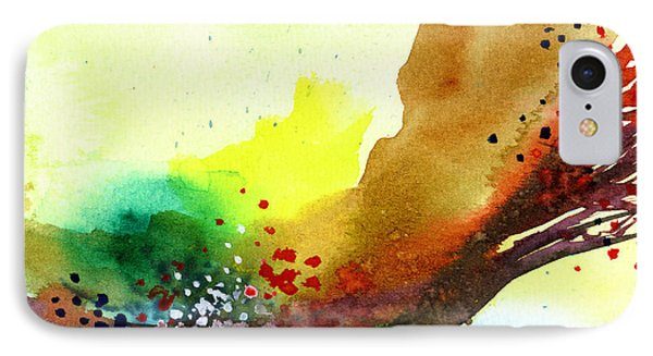 Abstract 5 Phone Case by Anil Nene