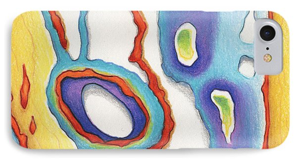 Abstract Ao67 IPhone Case by Amy S Turner
