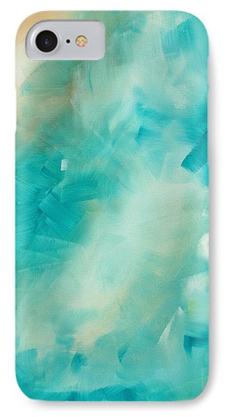 Abstract Art Colorful Bright Pastels Original Painting Spring Is Here II By Madart Phone Case by Megan Duncanson
