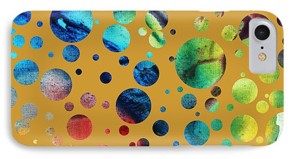 Abstract Art Digital Pixelated Painting Image Of Beauty Of Color By Madart Phone Case by Megan Duncanson