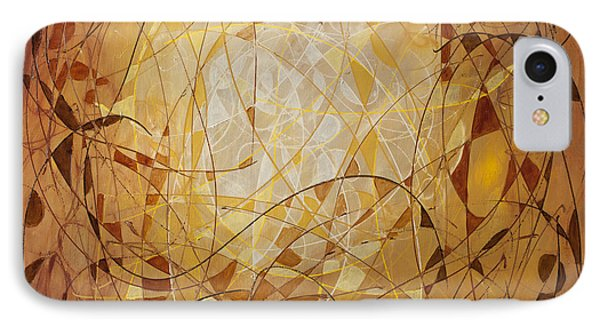 Abstract Art Eleven IPhone Case by Lynne Taetzsch