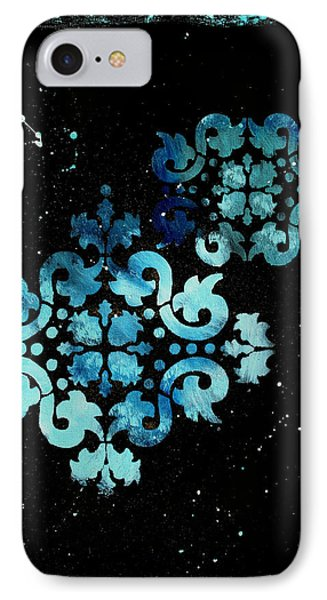 Abstract Art Original Decorative Painting Mysterious By Madart Phone Case by Megan Duncanson