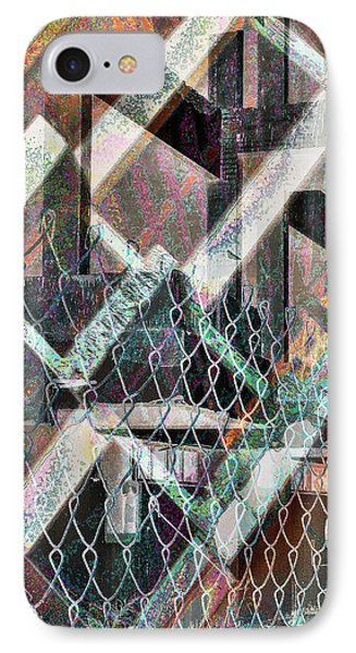 IPhone Case featuring the digital art Abstract Concrete by Ginny Schmidt