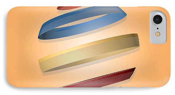 Abstract Design 9 Phone Case by Anthony Caruso
