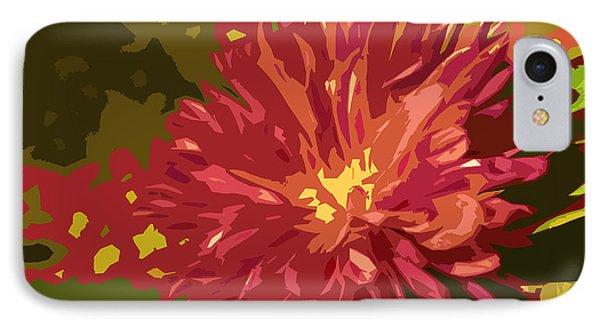 Abstract Flower 10 IPhone Case by Sumit Mehndiratta