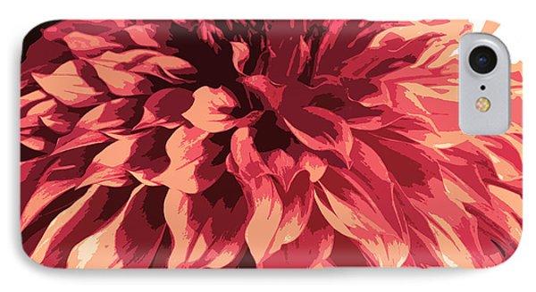 Abstract Flower 13 IPhone Case by Sumit Mehndiratta