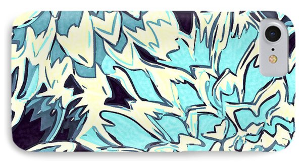 Abstract Flowers 11 IPhone Case by Sumit Mehndiratta