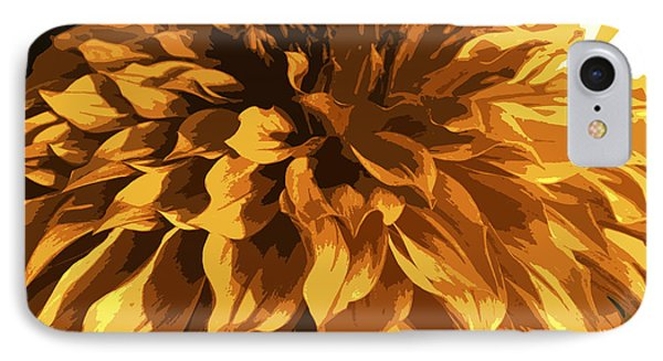 Abstract Flowers 14 IPhone Case by Sumit Mehndiratta