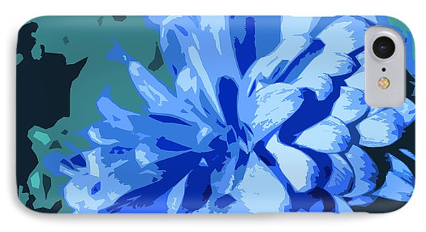 Abstract Flowers 2 IPhone Case by Sumit Mehndiratta