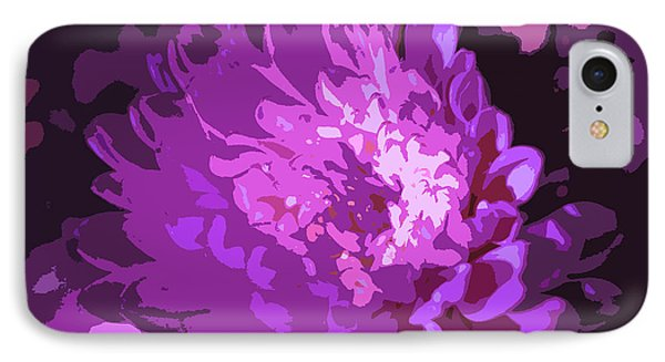 Abstract Flowers 3 IPhone Case by Sumit Mehndiratta