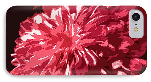 Abstract Flowers Phone Case by Sumit Mehndiratta