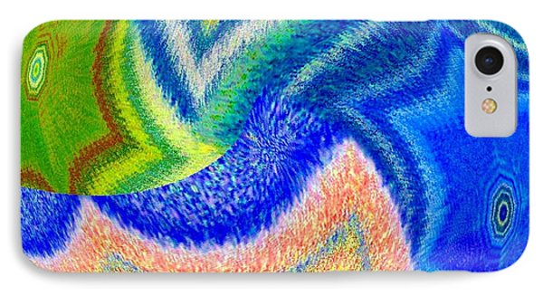 IPhone Case featuring the digital art Abstract Fusion 155 by Will Borden