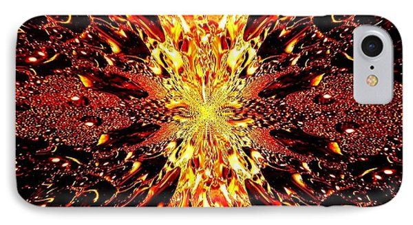 Abstract Fusion 73 Phone Case by Will Borden