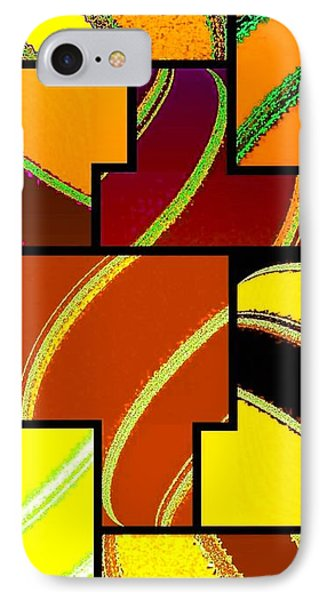 Abstract Fusion 92 Phone Case by Will Borden