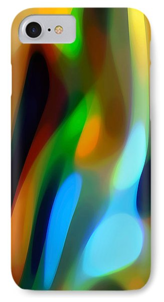 Abstract Garden Light Phone Case by Amy Vangsgard