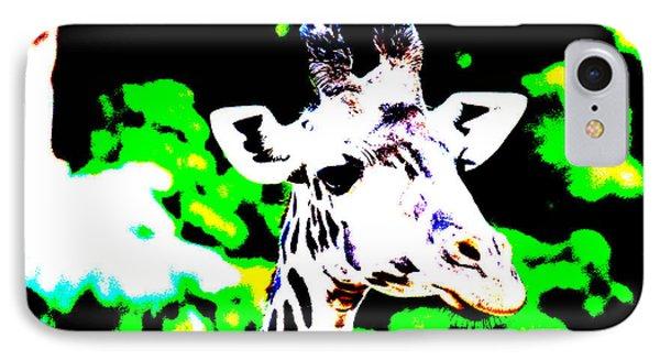 Abstract Giraffe IPhone Case