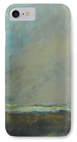 Abstract Landscape - Horizon IPhone Case by Kathleen Grace