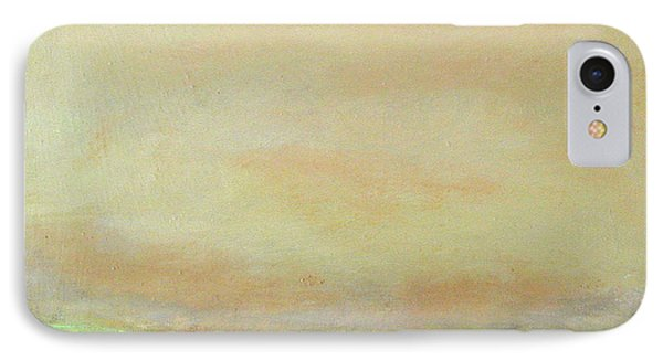 Abstract Landscape - Rose Hills IPhone Case by Kathleen Grace