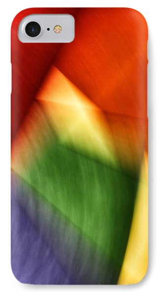 Abstract Motion 1 IPhone Case by Mark Fuller